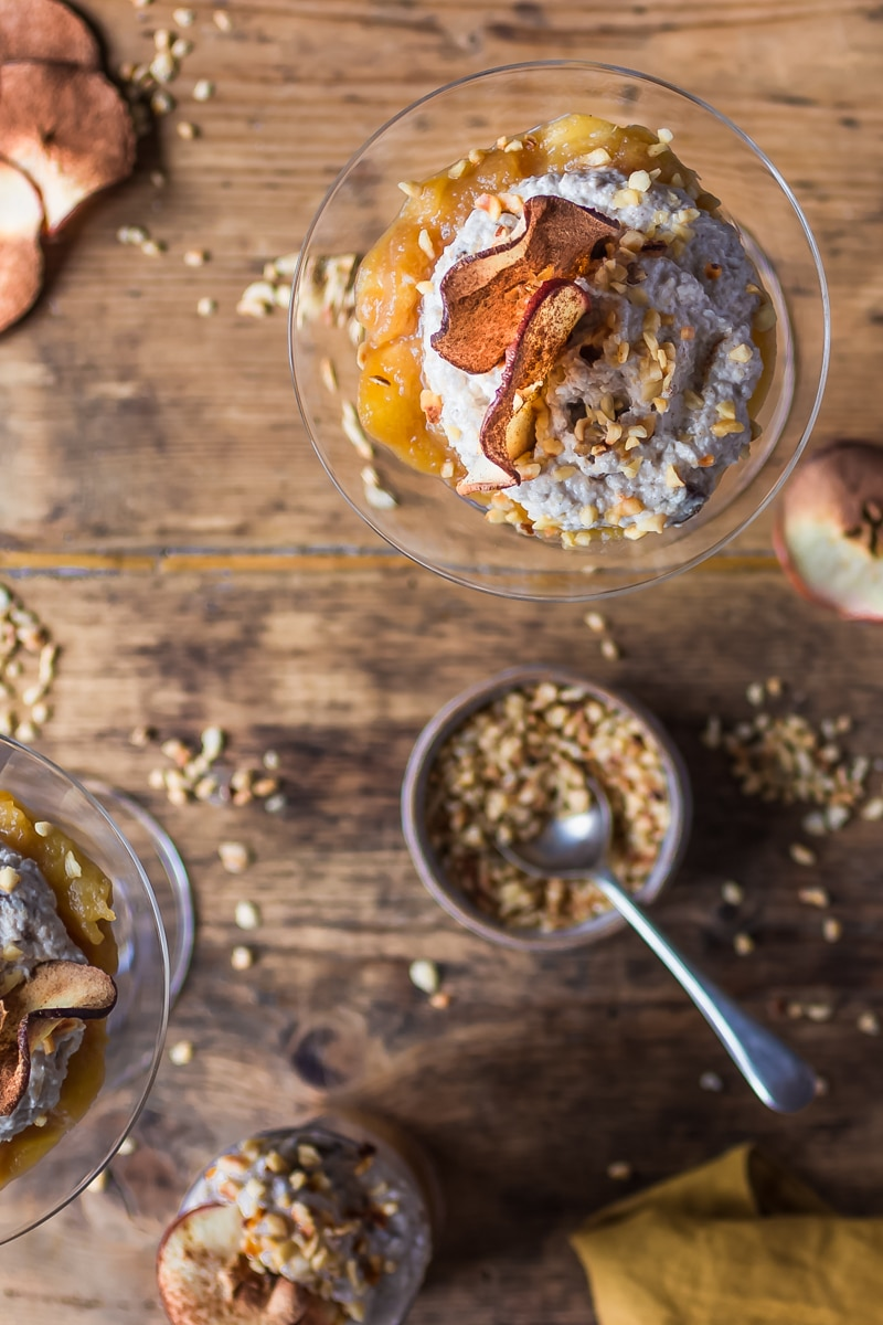 spiced apple bircher